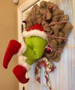 Père Noël Gonflable Décoration
