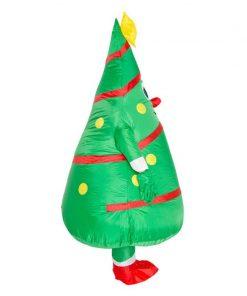 Père Noël Gonflable Costume