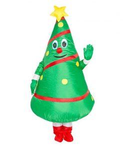 Déguisement Noël Gonflable Sapin