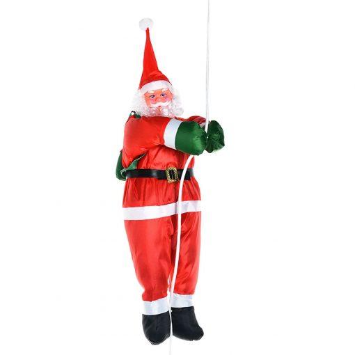 Père Noël Gonflable Suspendu