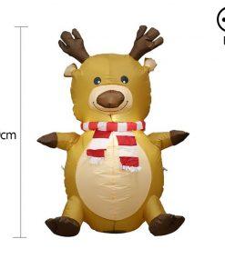 Déguisement Noël Gonflable Elk