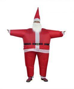 Père Noël Gonflable Déguisement